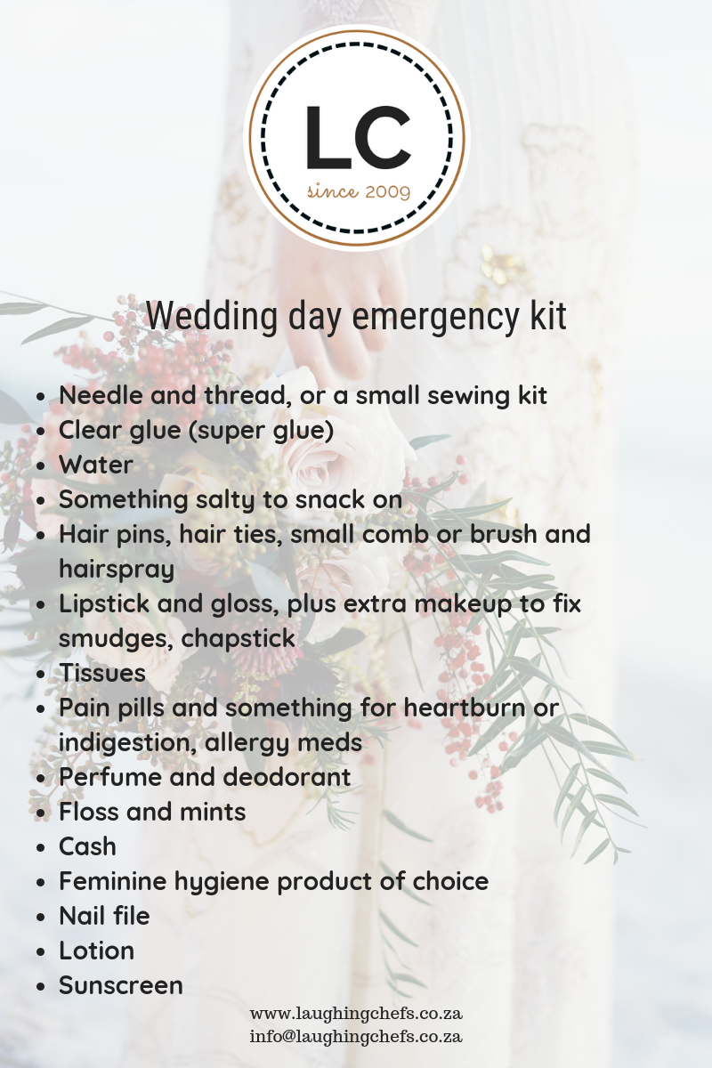 Wedding Day Emergency Kit.Wedding Day Emergency Kit Do Not Be Caught Without The Following 15