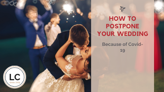 How to postpone your wedding