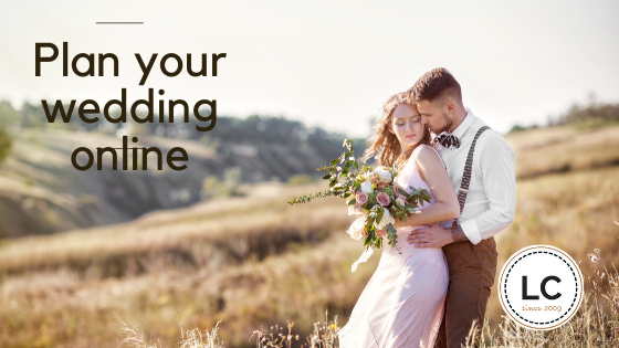 How to plan your whole wedding online